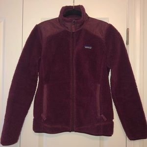 Patagonia Women's Retro-X Fleece Jacket Maroon M